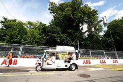 Jose Maria Lopez, Dragon Racing, Lucas di Grassi, Audi Sport ABT Schaeffler, on the drivers parade