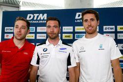 Press Conference: Robin Frijns, Audi Sport Team Abt Sportsline, Philipp Eng, BMW Team RBM, Daniel Juncadella, Mercedes-AMG Team HWA