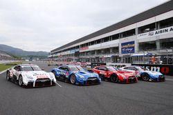 GT500 Nissan GT-R Nismo GT3 line-up