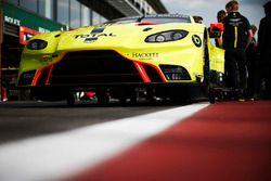 SPA-FRANCORCHAMPS, BELGIUM - MAY 02: #95 Aston Martin Racing Aston Martin Vantage AMR: Marco Sorensen, Nicki Thiim, Darren Turner