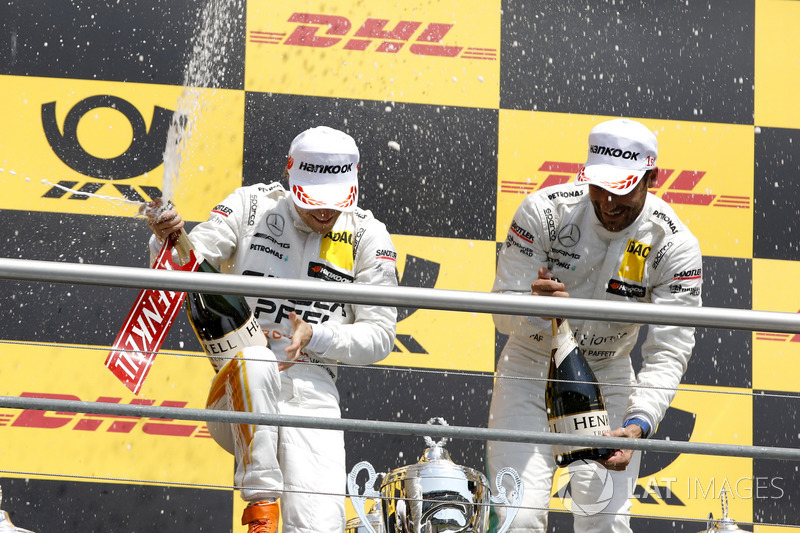 Podium: Lucas Auer, Mercedes-AMG Team HWA, Gary Paffett Mercedes-AMG Team HWA