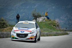 Damiano De Tommaso, MIchele Ferrara, Peugeot 208 R2B