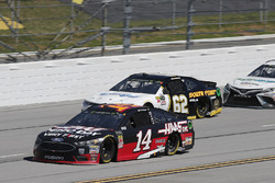 Clint Bowyer, Stewart-Haas Racing, Ford Haas Automation Demo Day Brendan Gaughan, Beard Motorsports, Chevrolet Camaro Beard Oil Distributing / South Point Hotel & Casino