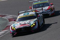 #0 Goodsmile Racing with Team Ukyo Mercedes-AMG GT3: Nobuteru Taniguchi, Tatsuya Kataoka