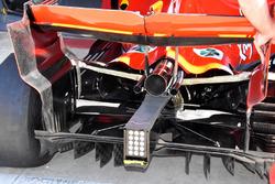 Ferrari SF71H trasero y difusor