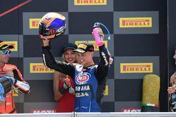Podio: il secondo classificato Michael van der Mark, Pata Yamaha