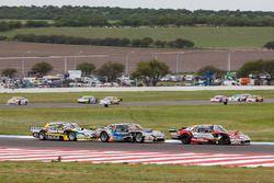 Jose Manuel Urcera, Las Toscas Racing Chevrolet, Christian Ledesma, Las Toscas Racing Chevrolet, Omar Martinez, Martinez Competicion Ford