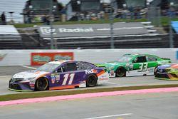 Денни Хэмлин, Joe Gibbs Racing Toyota, Джеффри Эрнхардт, The Motorsports Group Chevrolet