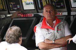 Ron Dennis, Team Principal, McLaren Mercedes