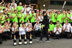 Valtteri Bottas, Mercedes AMG F1 à la fête Mercedes