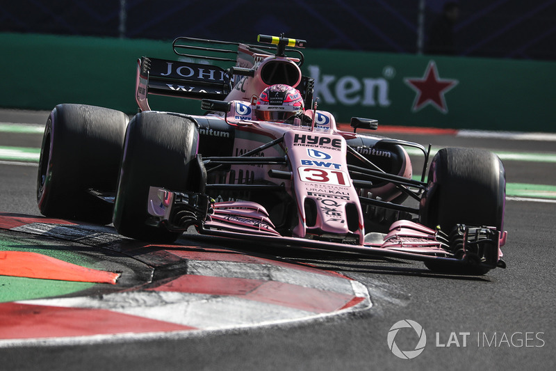 6º Esteban Ocon, Sahara Force India VJM10