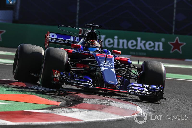 17º Brendon Hartley, Scuderia Toro Rosso STR12 (sancionado con 20 posiciones)