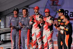 Bernd Casier, Pieter Vyncke, Duimdistel, Giandomenico Basso, Lorenzo Granai, BRC Racing, et Michael Burri, Andersson Levratti, D-Max Swiss