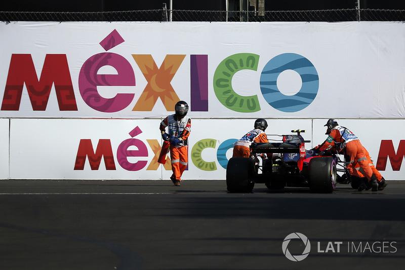 El auto de Pierre Gasly, Scuderia Toro Rosso STR12