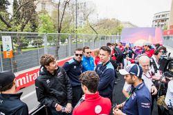 George Russell, ART Grand Prix, Nyck De Vries, PREMA Racing, Alexander Albon, DAMS, Nicholas Latifi,
