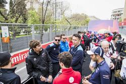 Джордж Расселл, ART Grand Prix, Ник де Врис, Pertamina Prema Theodore Racing, Александр Элбон и Николя Латифи, DAMS