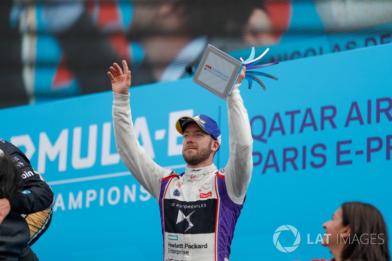 Sam Bird, DS Virgin Racing, finishes in 3rd