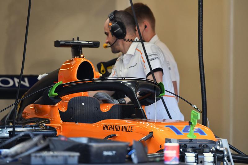 McLaren MCL33 detalle del frente