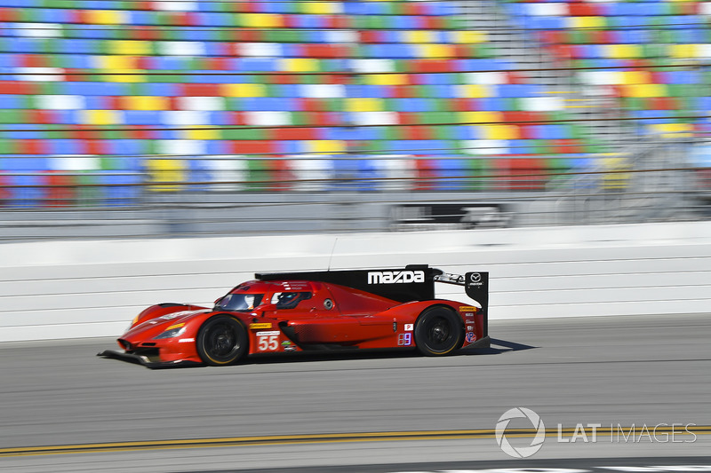 34. #55 Mazda Team Joest Mazda: Jonathan Bomarito (DPi)
