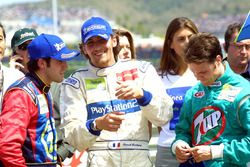 Racewinnaar Ricardo Zonta, tweede plaats Franck Montagny, derde plaatsRafael Sarandeses