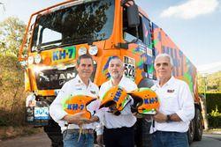 Jordi Juvanteny, Javier Tamayo, Jose Luis Criado, KH-7 Epsilon Team Rally