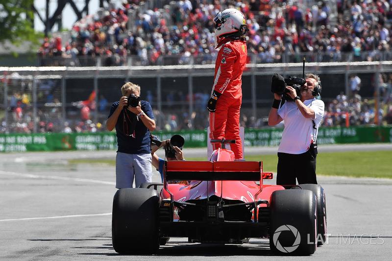 Canadá 2018: Vettel llega a 4 poles en la temporada.