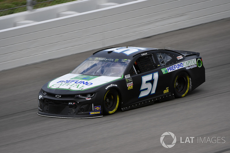 B.J. McLeod, Rick Ware Racing, Chevrolet Camaro Haas Automation