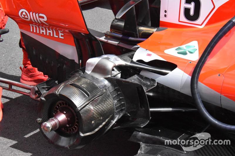 Technikai képcsomag Barcelonából - F1 2018 - kedd