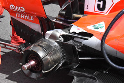 Ferrari SF71H rear suspension