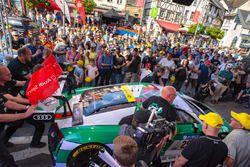 Audi Sport Team Land, race winner 2017, de Phillippi, Mies, van der Linde, Winkelhock,