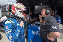 Carlos Munoz and Michael Andretti, Andretti Autosport Honda