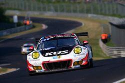 #17 KÜS Team75 Bernhard Porsche GT3 R: Michael Christensen, Matteo Cairoli, Andre Lotterer, Jörg Ber