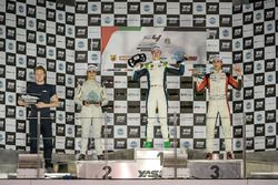 Podium: Race winner David Schumacher, Rasgaira Motorsports, second place Caio Collet, SILBERPFEIL Energy Dubai, third place William Alatalo, Mücke Motorsport