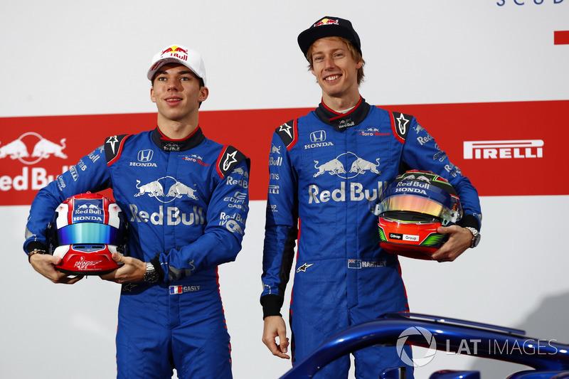 Pierre Gasly, Scuderia Toro Rosso, Brendon Hartley, Scuderia Toro Rosso STR13
