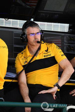 Nick Chester, directeur technique de Renault Sport F1 Team