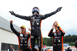 I vincitori della gara #26 G-Drive Racing Oreca 07 - Gibson: Roman Rusinov, Andrea Pizzitola, Jean-Eric Vergne