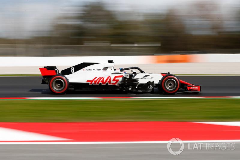 9º Haas VF-18: 695 vueltas.