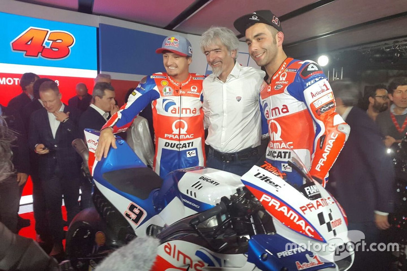Jack Miller, Pramac Racing, Gigi Dall'Igna y Danilo Petrucci, Pramac Racing