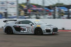 #23 Caseit Racing by Flying Lizard Audi R8 LMS GT4: Adam Merzon