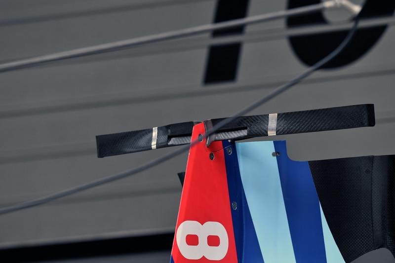 Detalle de la carrocería Williams FW41