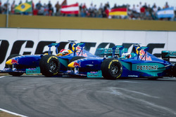 Johnny Herbert en Jean Alesi, Sauber Petronas C18