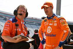 Joey Logano, Team Penske, Ford Fusion Autotrader and Todd Gordon