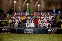 The ROC Family photo before the ROC Nations Cup