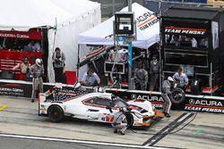 Pitstop, #7 Acura Team Penske Acura DPi, P: Helio Castroneves, Ricky Taylor, Graham Rahal