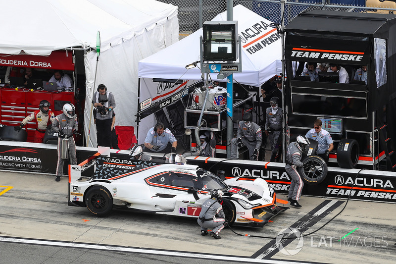Pitstop, #7 Acura Team Penske Acura DPi, P: Helio Castroneves, Ricky Taylor, Graham Rahal