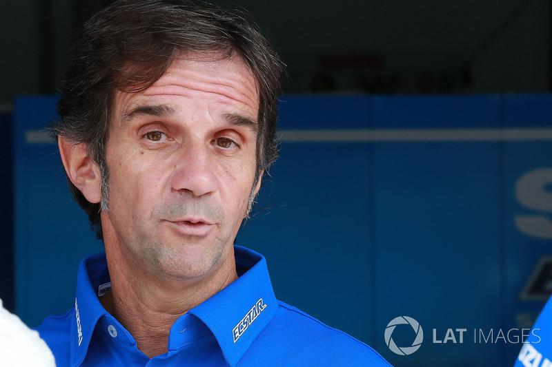 Davide Brivio, manager Team Suzuki MotoGP