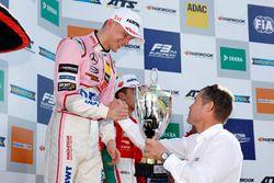 Подиум: победитель Максимилиан Гюнтер, Prema Powerteam