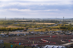 The kart track at COTA
