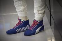 The boots of Valtteri Bottas, Mercedes AMG F1