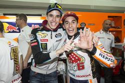 Campeón del mundo Marc Márquez, Repsol Honda Team con Alex Márquez, Marc VDS